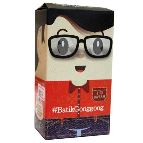 Coklat Rocklate (Oleh-Oleh Batam) - Mini Icon Crunchy Dark Chcoalate