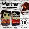 Coklat Rocklate (Oleh-Oleh Batam) - Mini Icon Crunchy Milk Chcoalate